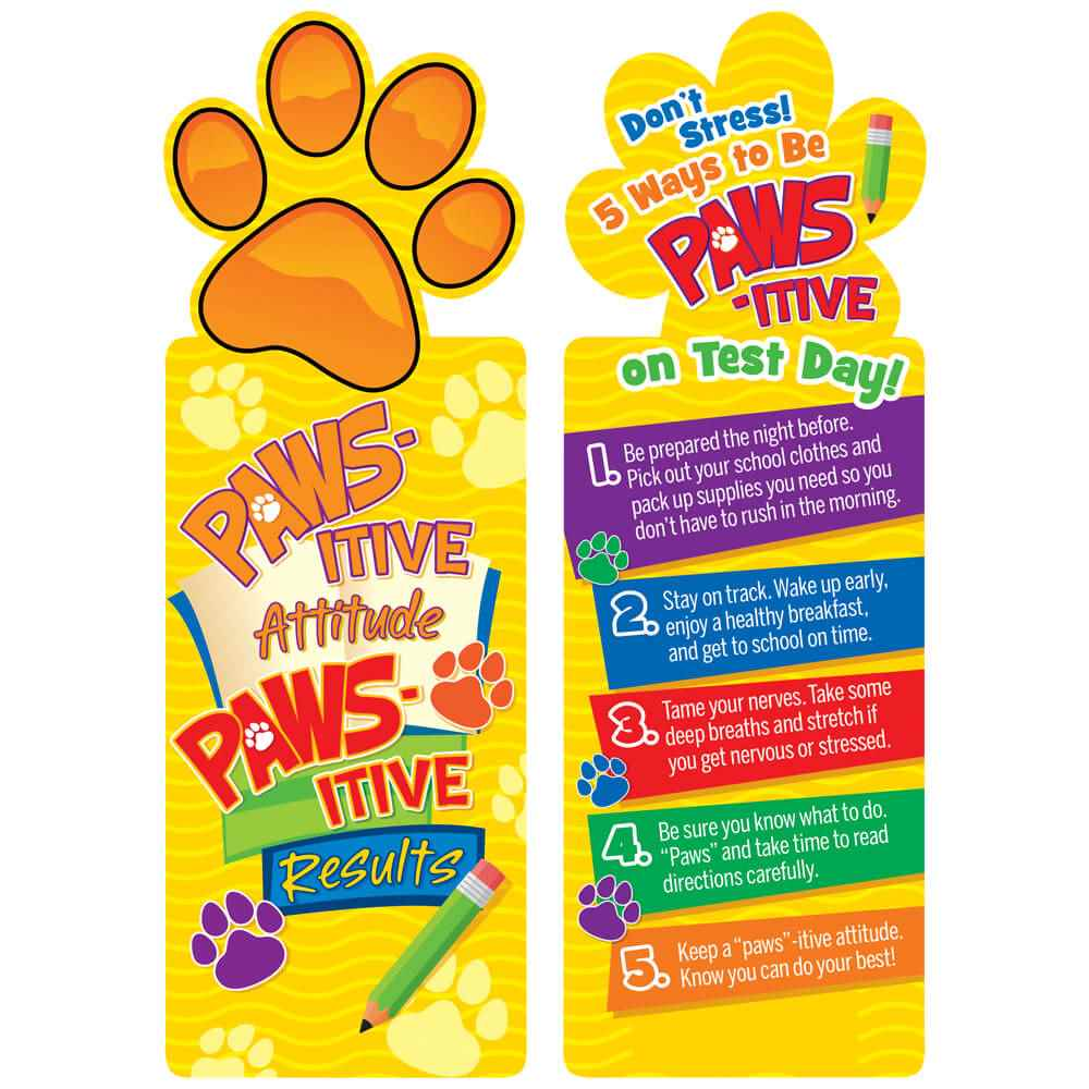 PAWS-itive Attitude, PAWS-itive Results Bookmarks - Pack of 25