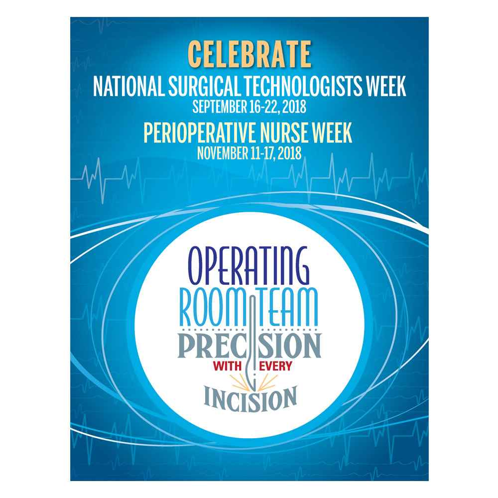 Operating Room Team: Precision With Every Incision Event Week Poster