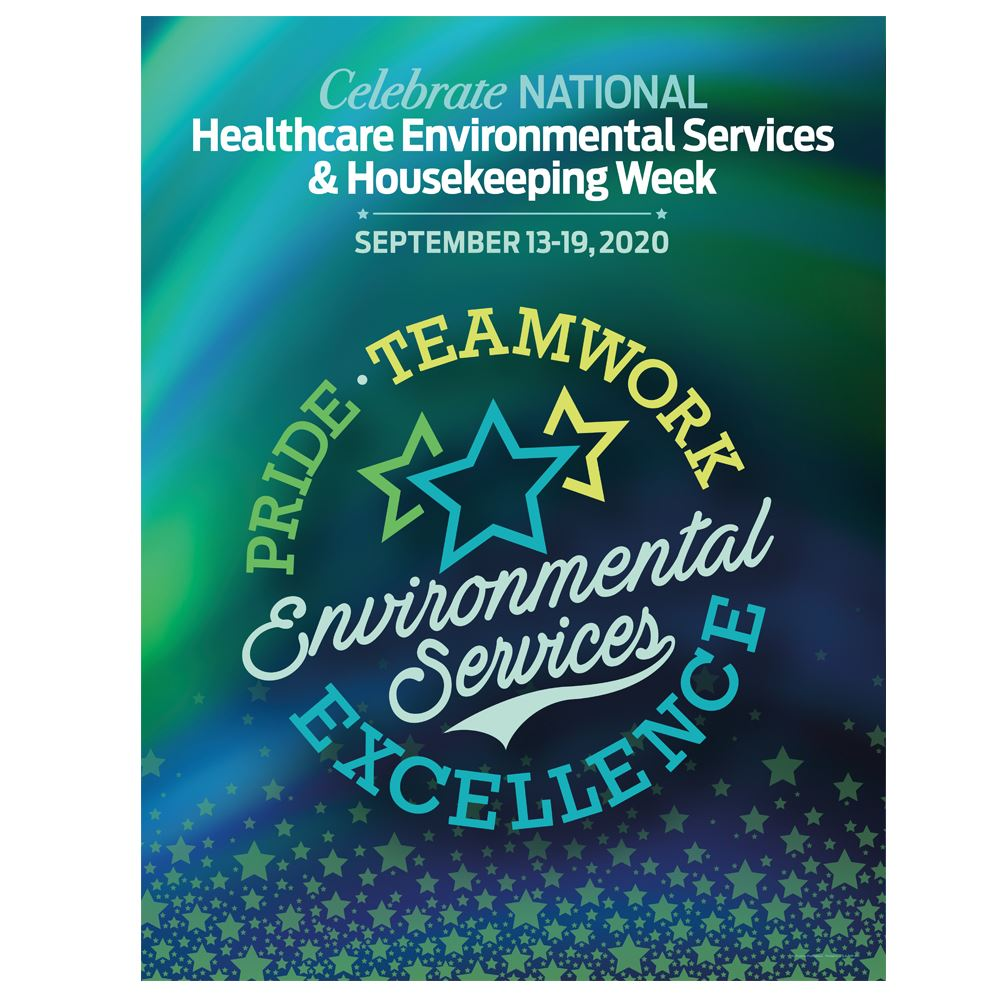 Environmental Services: Pride, Teamwork, Excellence Event Poster