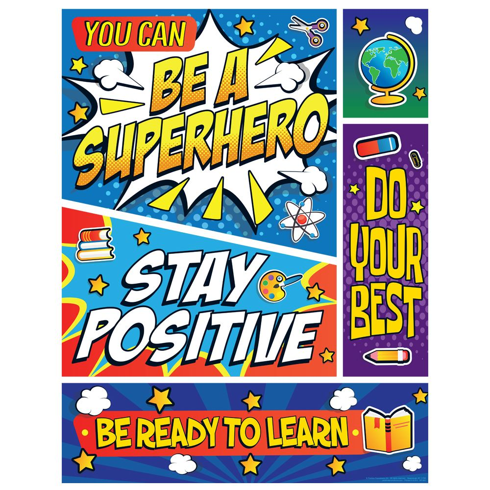 You Can Be A Superhero Event Week Poster - 3 Pack