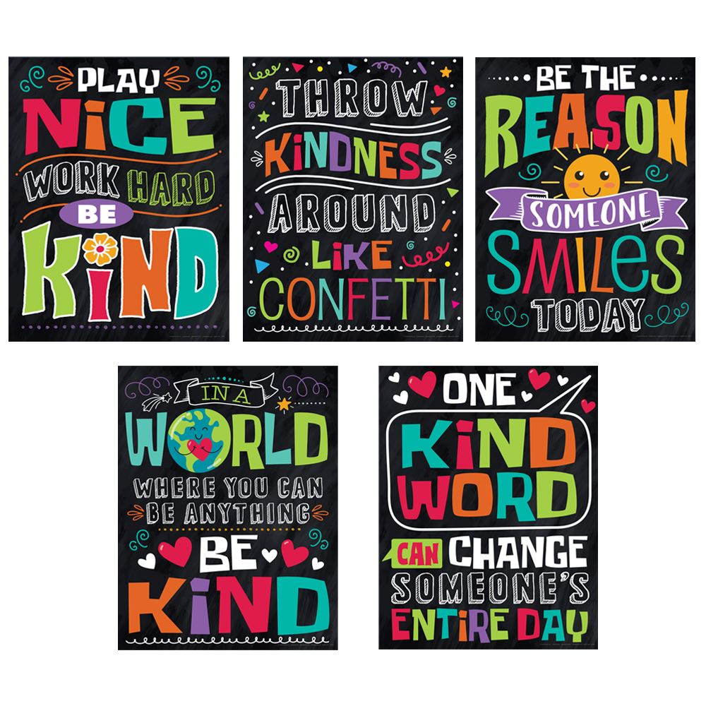 Assortment of Kindness Posters - Pack of 5