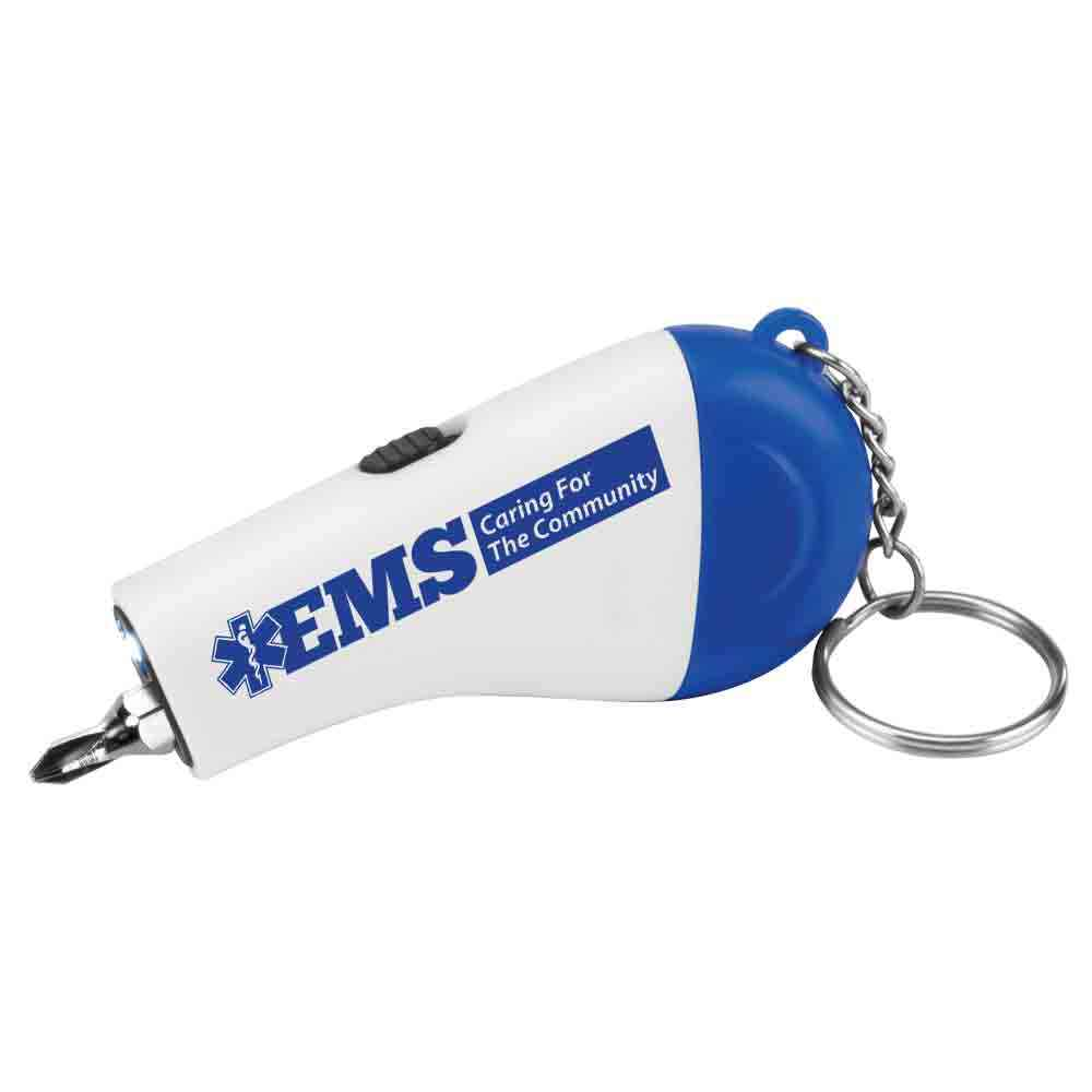 EMS: Caring For The Community Screwdriver Light-Up Key Ring