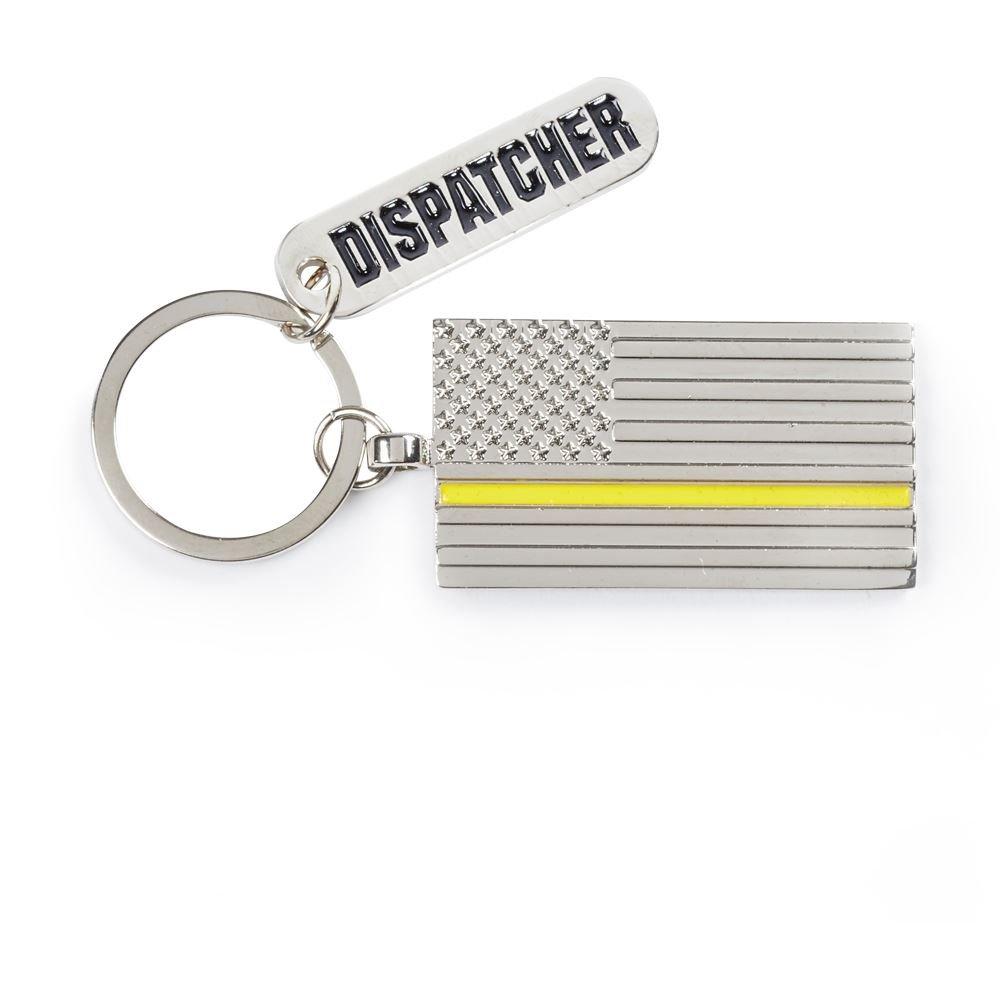 The Thin Gold Line Charm Key Tag With Keepsake Card