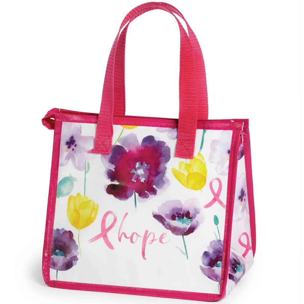 Floral/Hope Insulated Laminated Eco-Lunch Bag