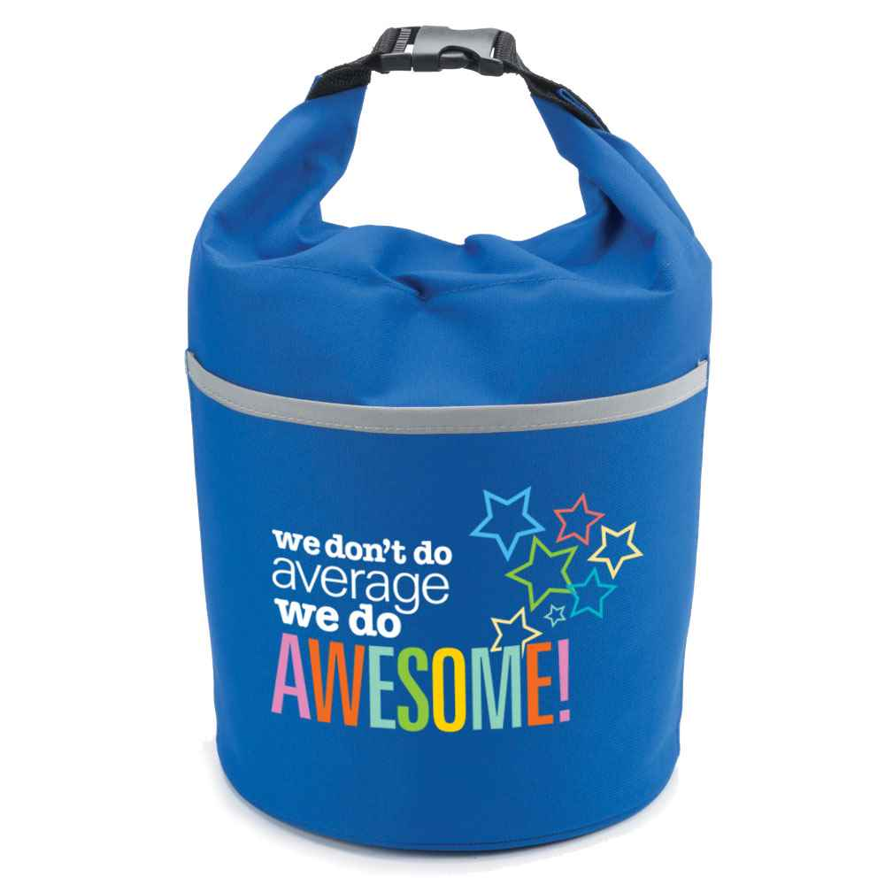We Don't Do Average, We Do Awesome! Bellmore Cooler Lunch Bag