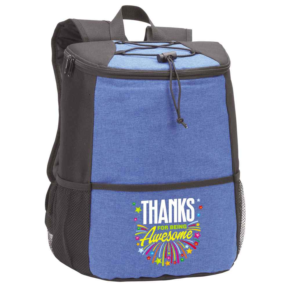 Thanks For Being Awesome Hemingway Backpack Cooler