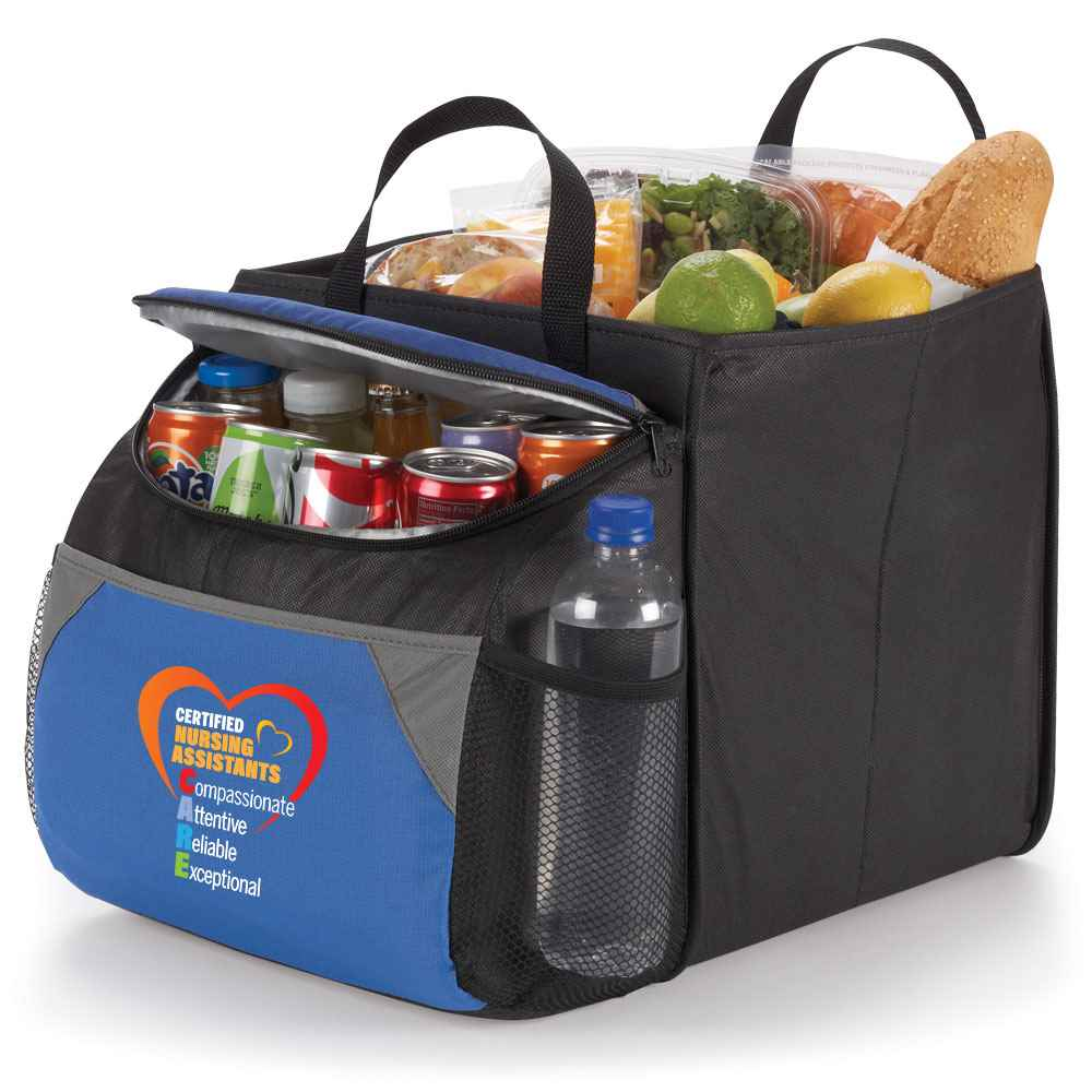 Certified Nursing Assistants CARE Berkeley Cooler with Collapsible Storage Cube