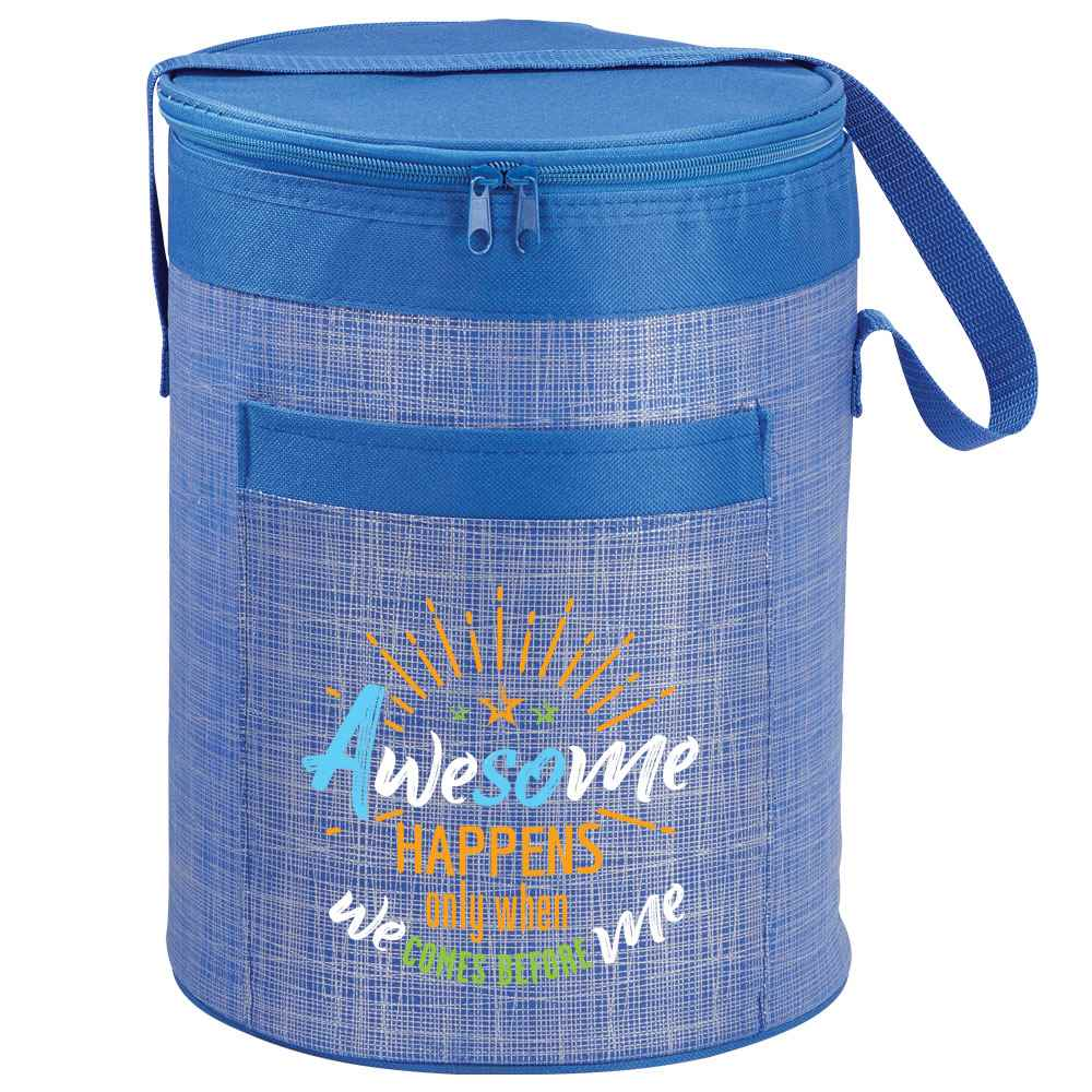 Awesome Happens Only When We Comes Before Me Brookville Barrel Cooler Bag