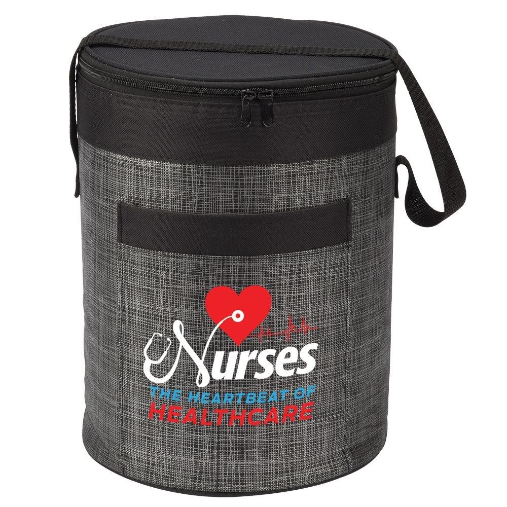 Nurses The Heartbeat Of Healthcare Brookville Barrel Cooler Bag