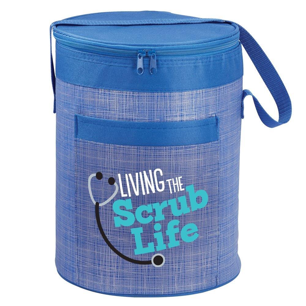Living The Scrub Life Brookville Barrel Cooler Bag