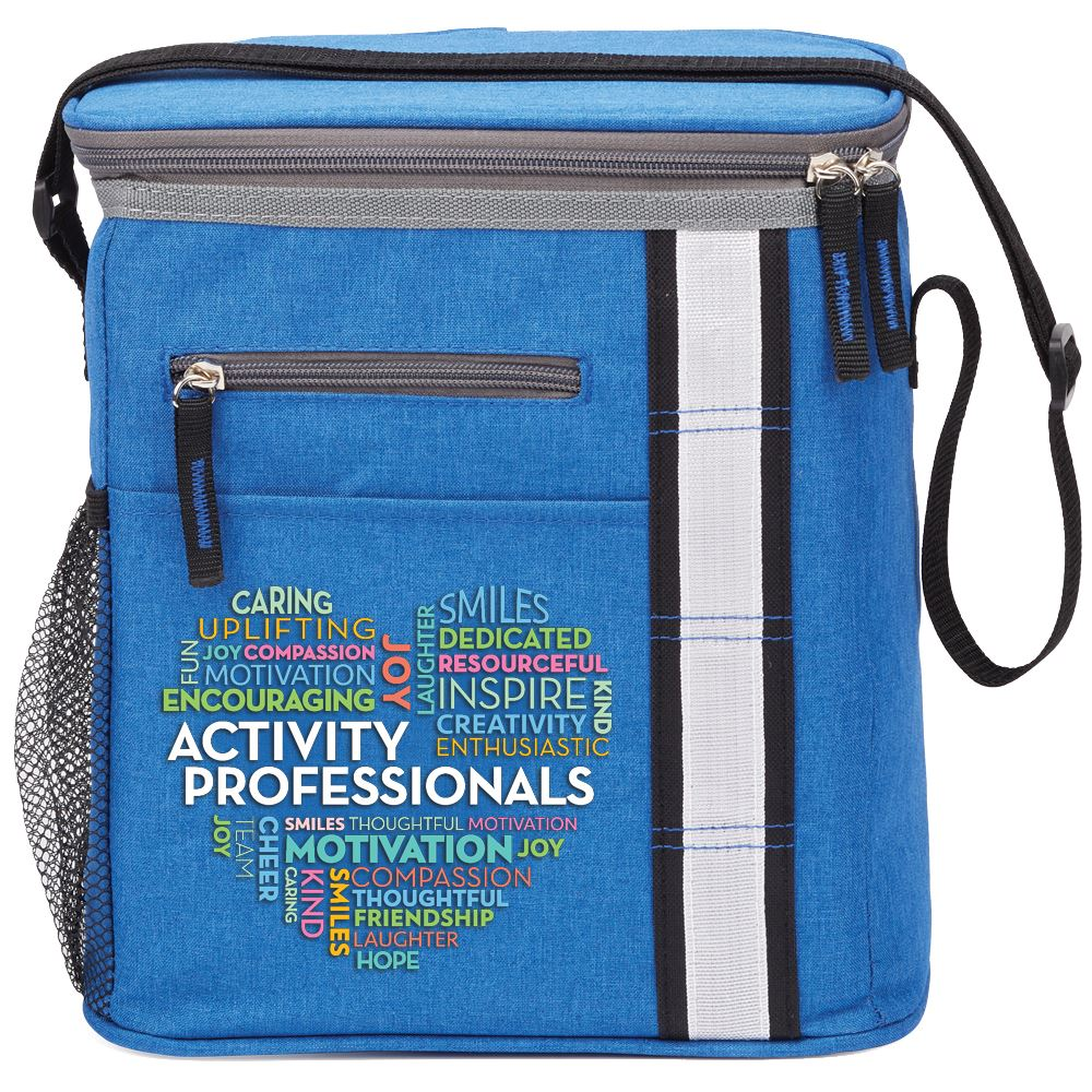 Activity Professionals Heart Word Cloud Westbrook Lunch/Cooler Bag