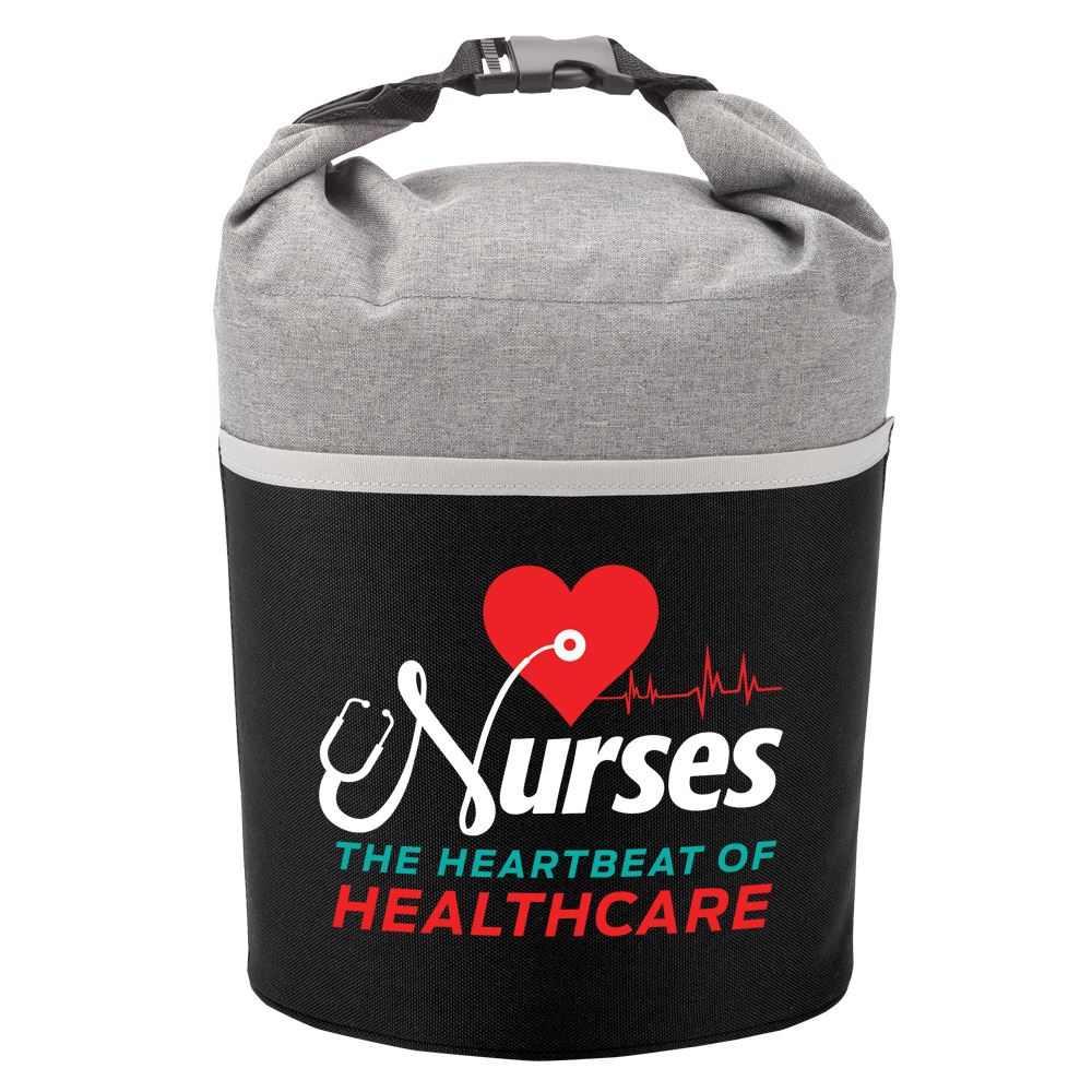 Nurses The Heartbeat of Healthcare Bellmore Lunch/Cooler Bag
