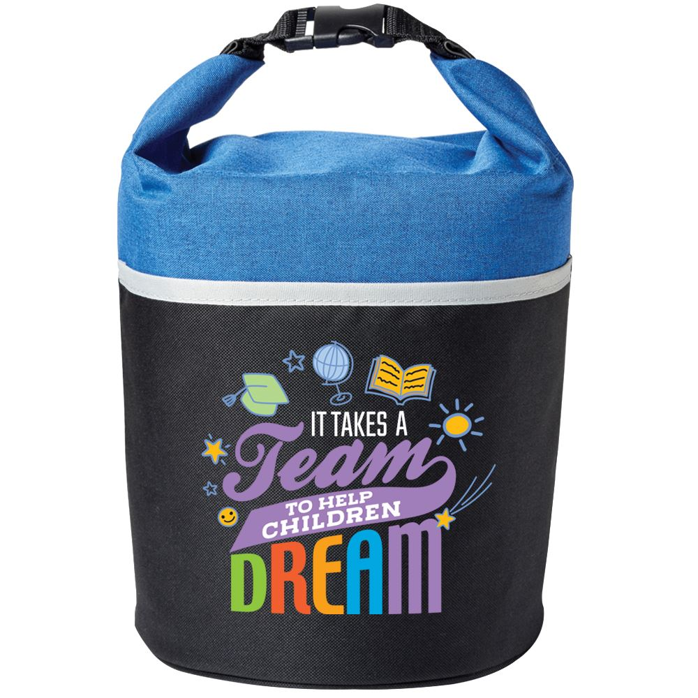 It Takes A Team To Help Children Dream Bellmore Cooler Lunch Bag