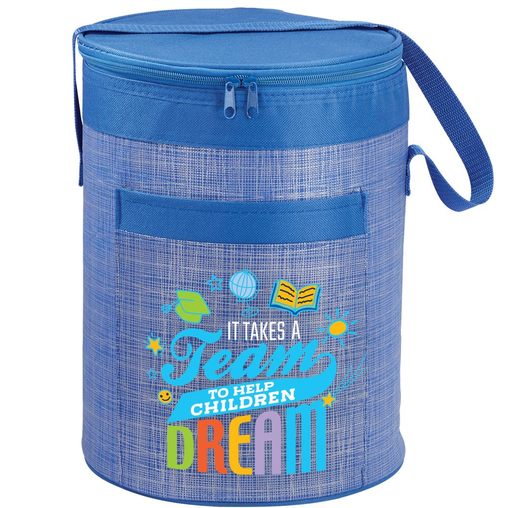 It Takes A Team To Help Children Dream Brookville Barrel Cooler Bag