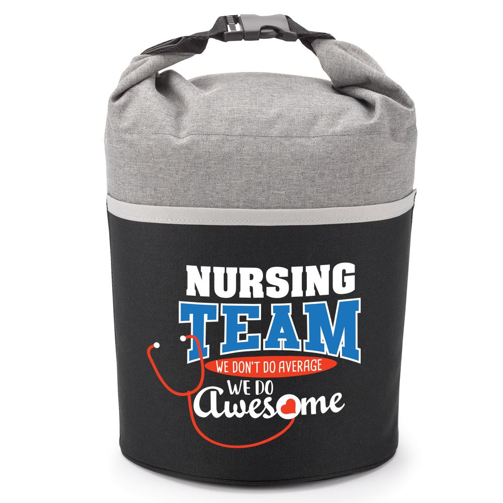 Nursing Team We Don't Do Average We Do Awesome Bellmore Cooler Lunch Bag