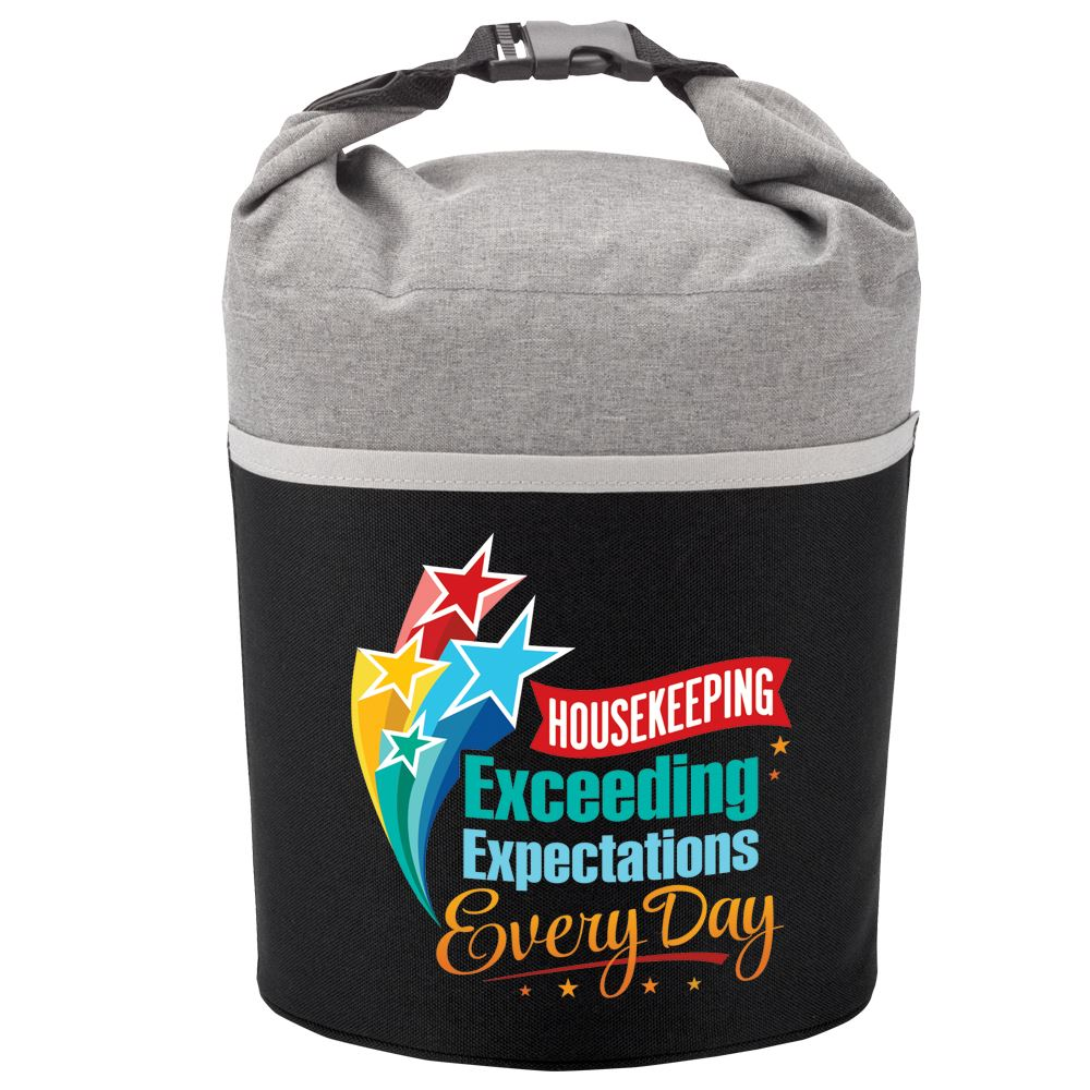 Housekeeping Exceeding Expectations Every Day Bellmore Cooler Lunch Bag