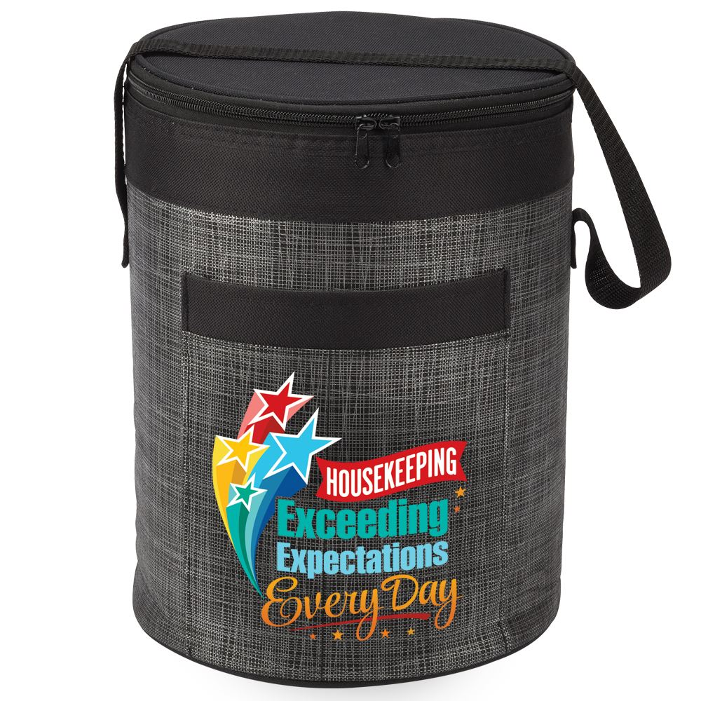 Housekeeping Exceeding Expectations Every Day Brookville Barrel Cooler Bag