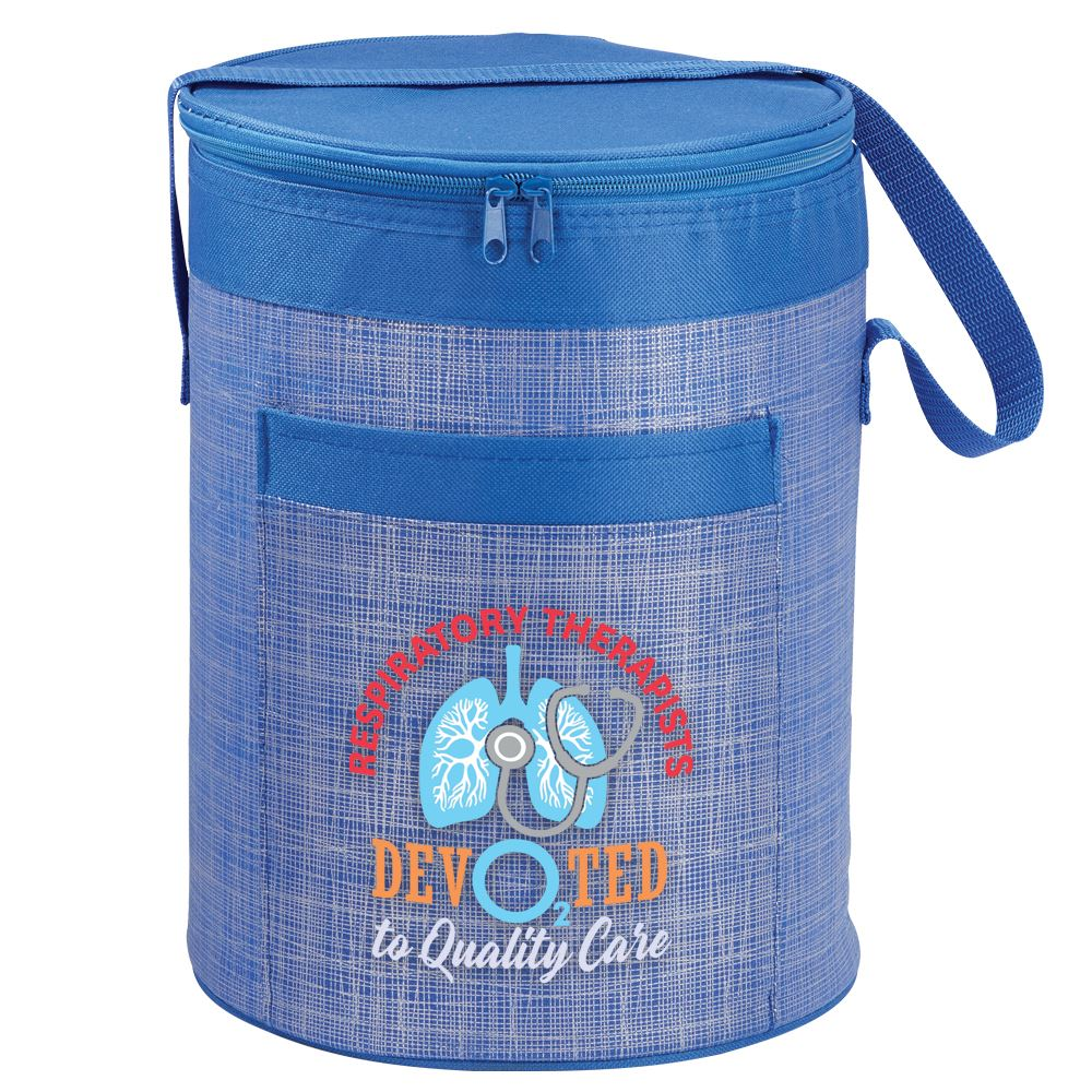 Respiratory Therapists: Devo2ted To Quality Care Brookville Barrel Cooler Bag
