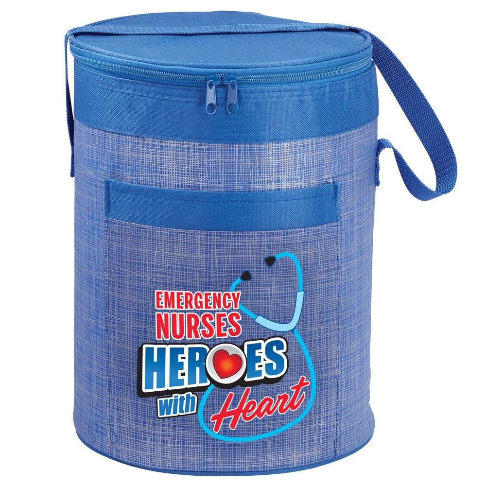 Emergency Nurses: Heroes With Heart Brookville Barrel Cooler Bag