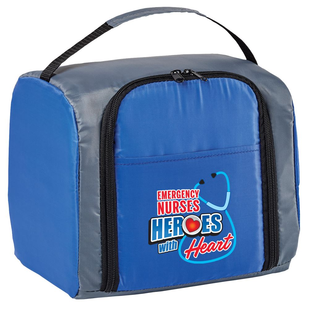 Emergency Nurses: Heroes With Heart Springfield Lunch/Cooler Bag