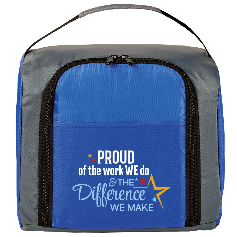 Proud Of The Work We Do And The Difference We Make Springfield Lunch/Cooler Bag