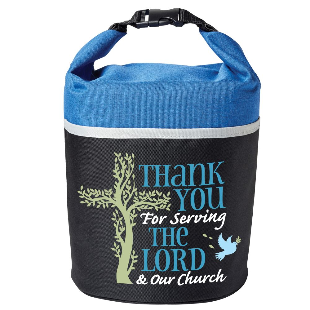 Thank You For Serving The Lord & Our Church Bellmore Cooler Lunch Bag