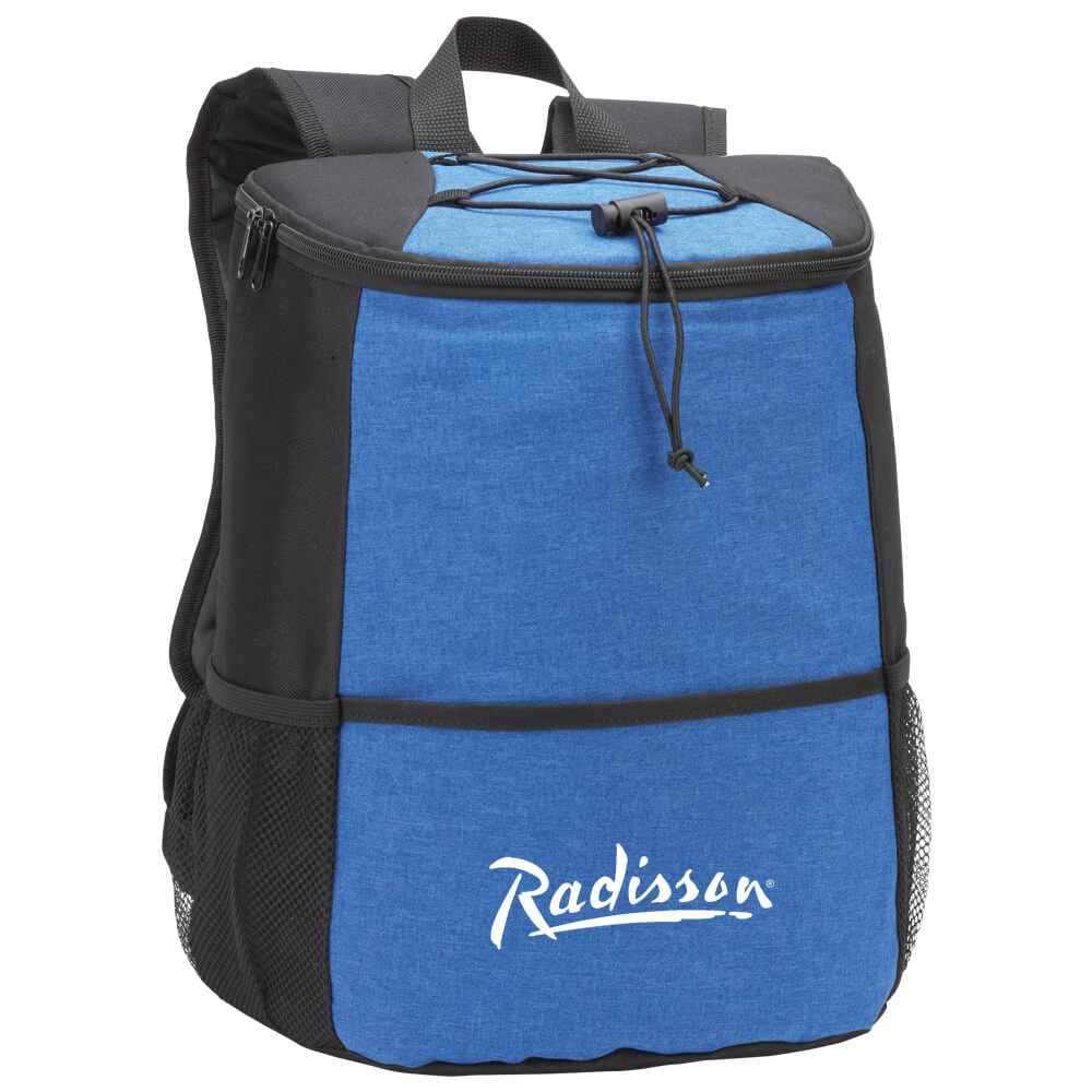 Blue Hemingway Backpack Cooler - Personalization Available