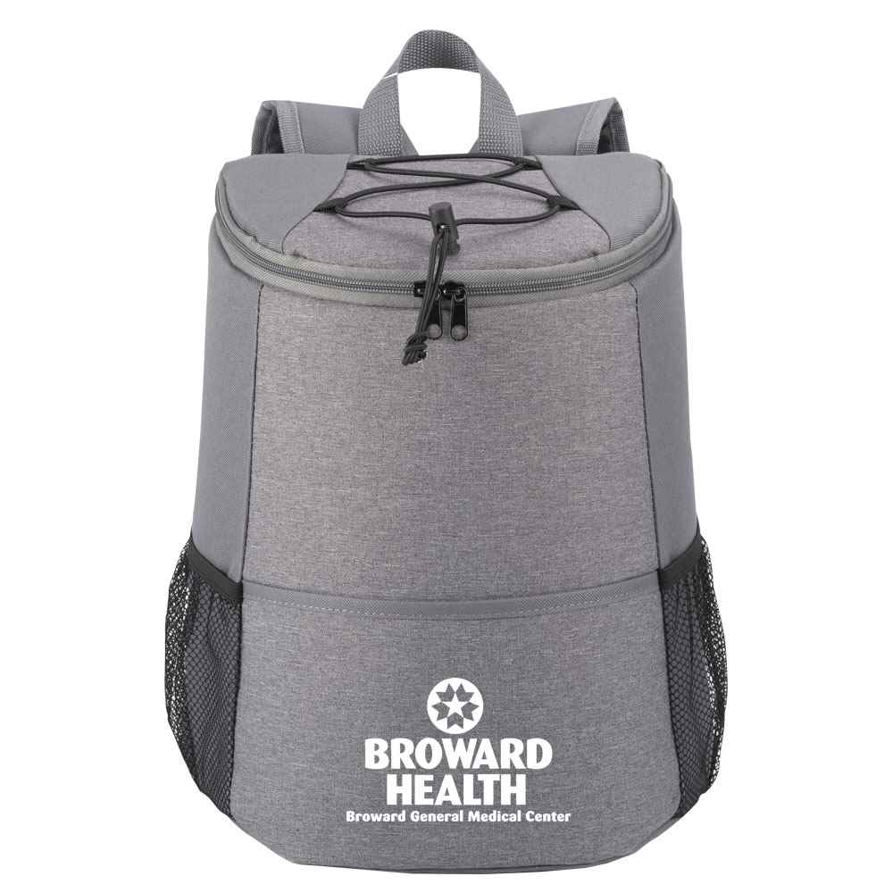 Gray Hemingway Backpack Cooler - One-Color Personalization Available