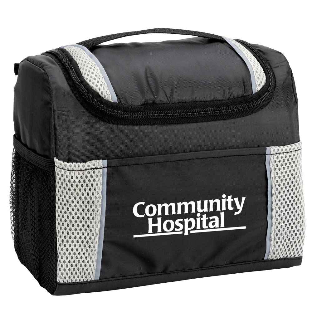Gray Bayville Lunch/Cooler Bag - Personalization Available