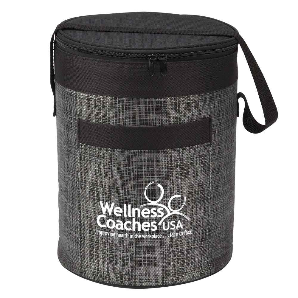 Black Brookville Barrel Cooler Bag - Personalization Available