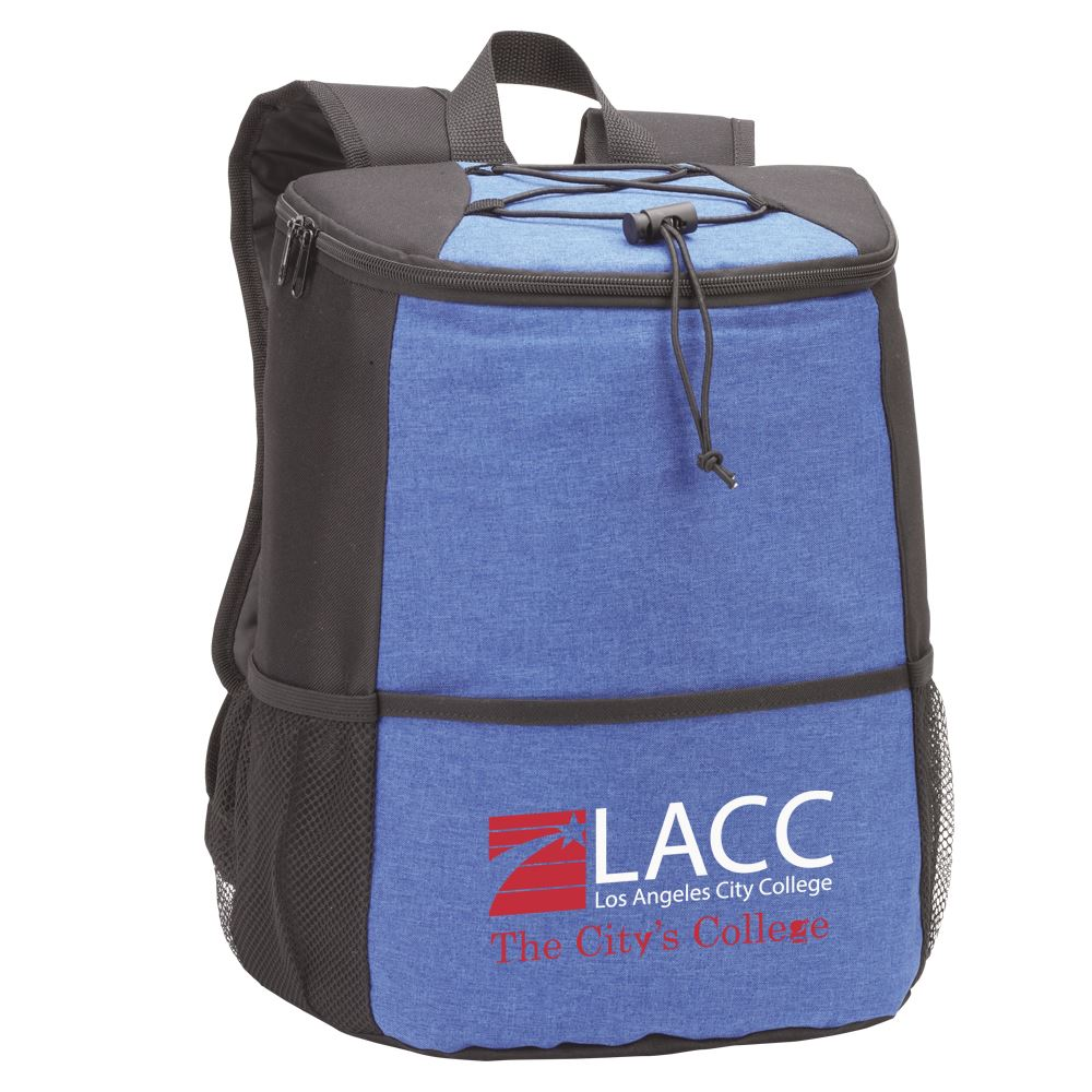 Blue Hemingway Backpack Cooler - Full Color Personalization Available