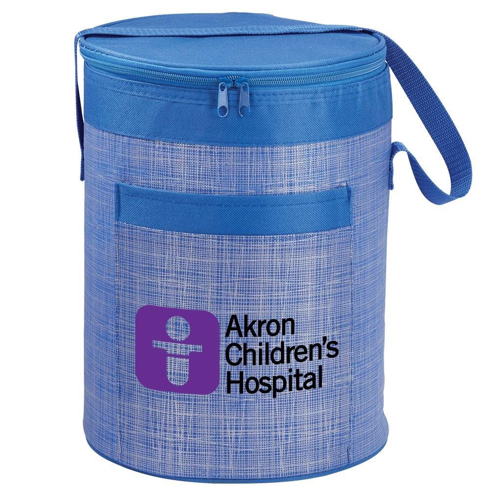 Black Brookville Barrel Cooler Bag - Full Color Personalization Available