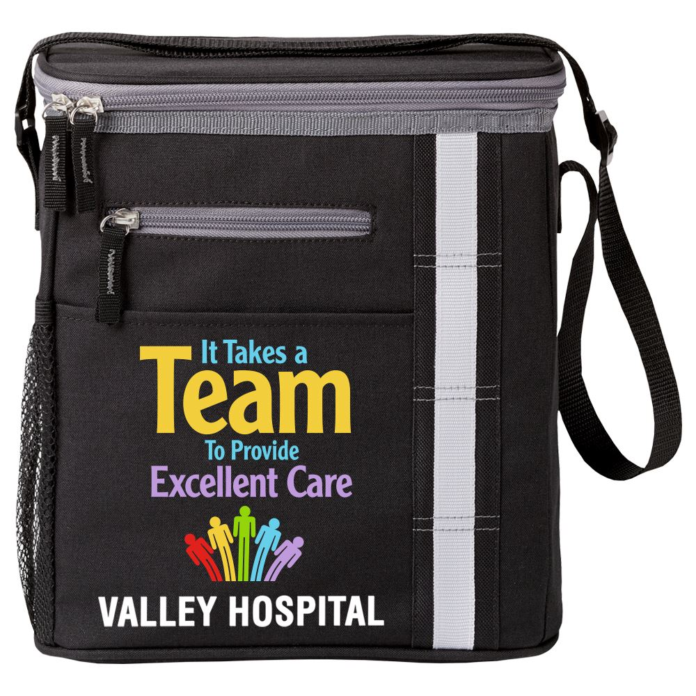 It Takes A Team To Provide Excellent Care Westbrook Lunch-Cooler Bag - Personalization Available