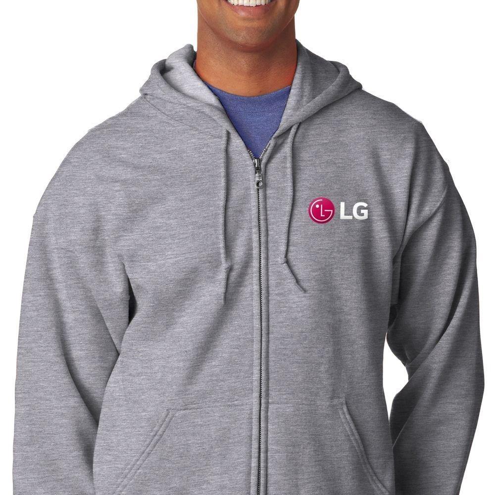 Men's Gildan Heavy Blend Full-Zip Hooded Sweatshirt