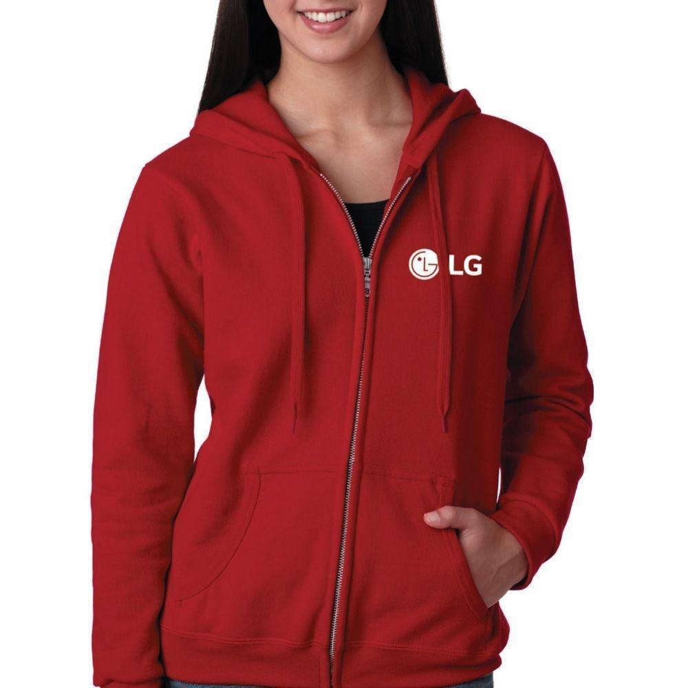 Women's Gildan Heavy Blend Full-Zip Hooded Sweatshirt
