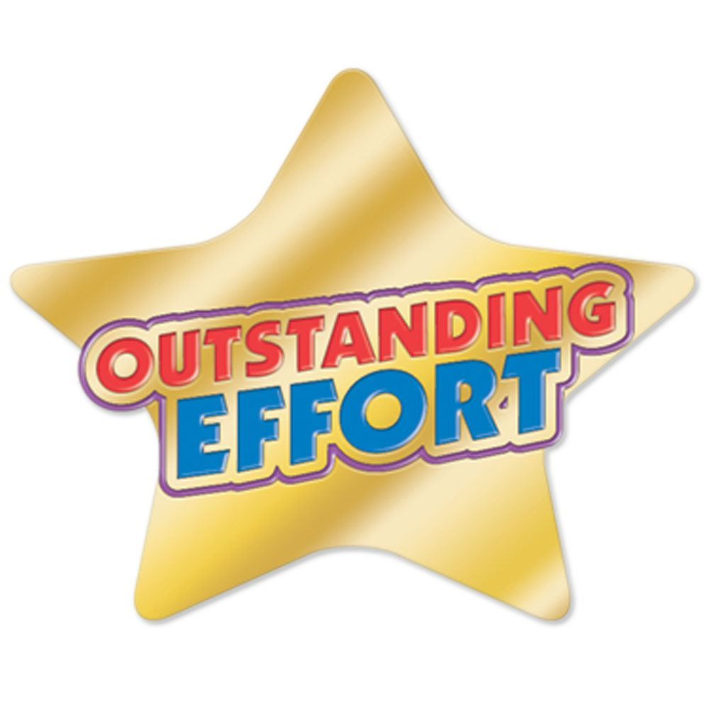 Outstanding Effort Lapel Pin | Positive Promotions