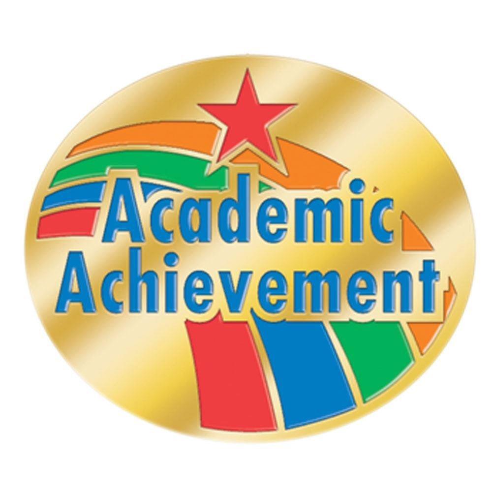 academic achievement lapel pin