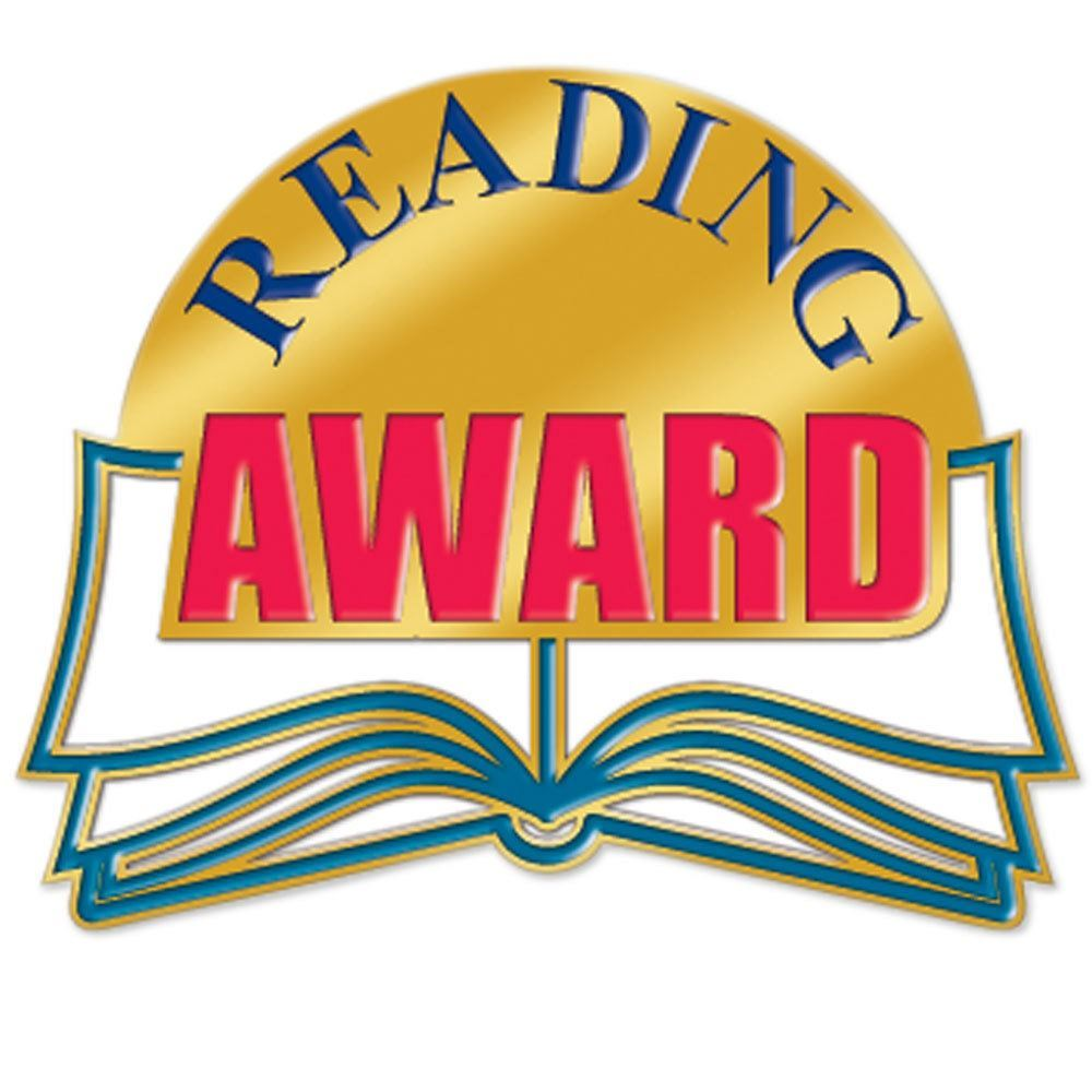 Reading Award Lapel Pin