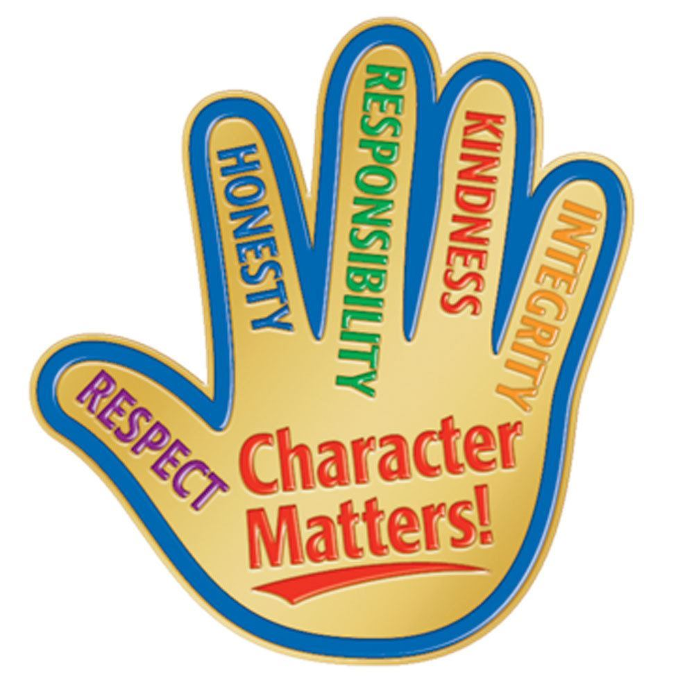 Character Matters Lapel Pin