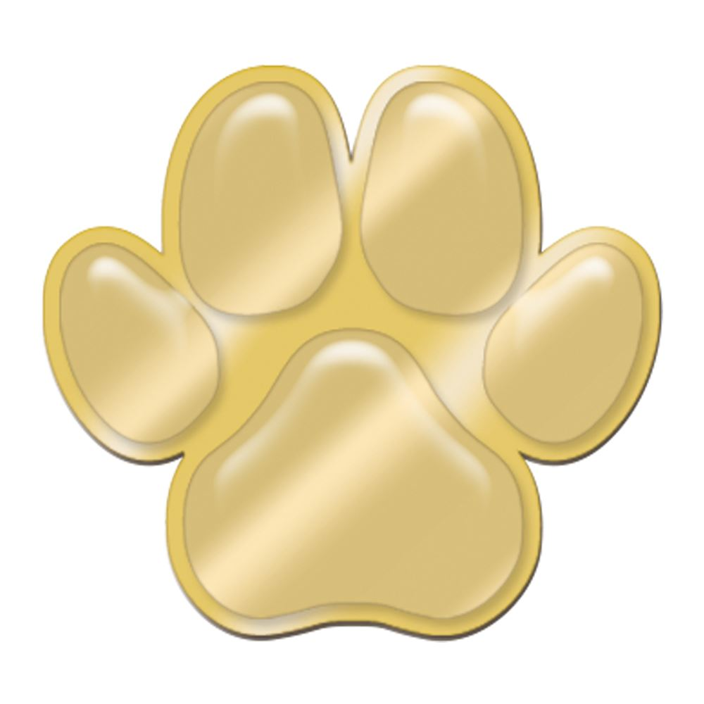 Paw-Shaped Lapel Pin