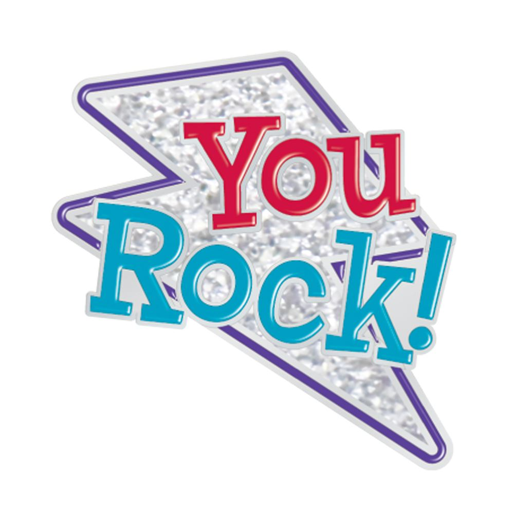 You Rock! Lapel Pin