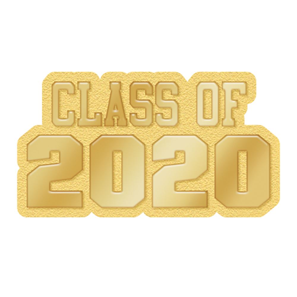 Class Of 2020 Lapel Pin