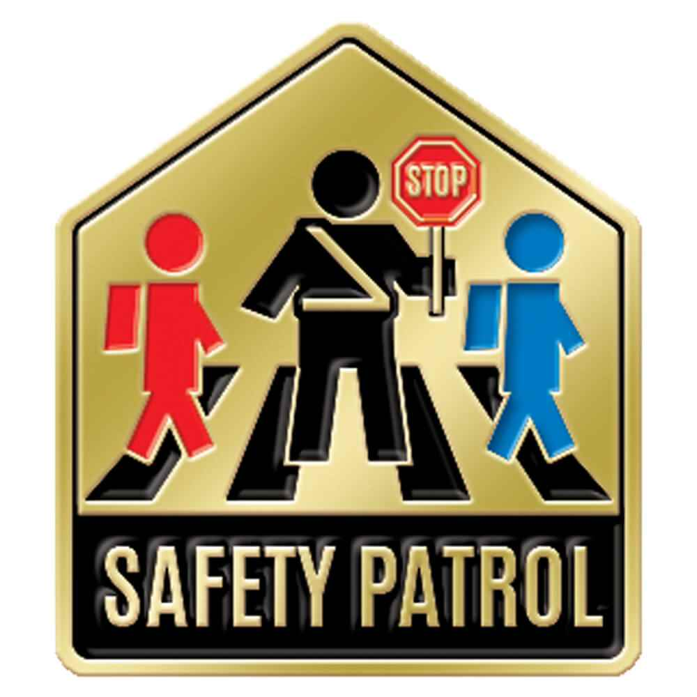 Safety Patrol Lapel Pin
