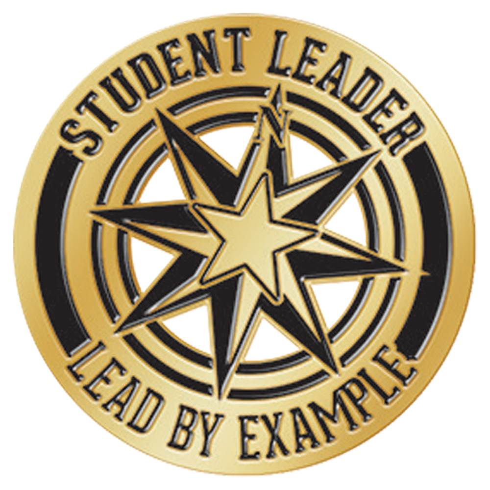 Student Leader Lead By Example Lapel Pin