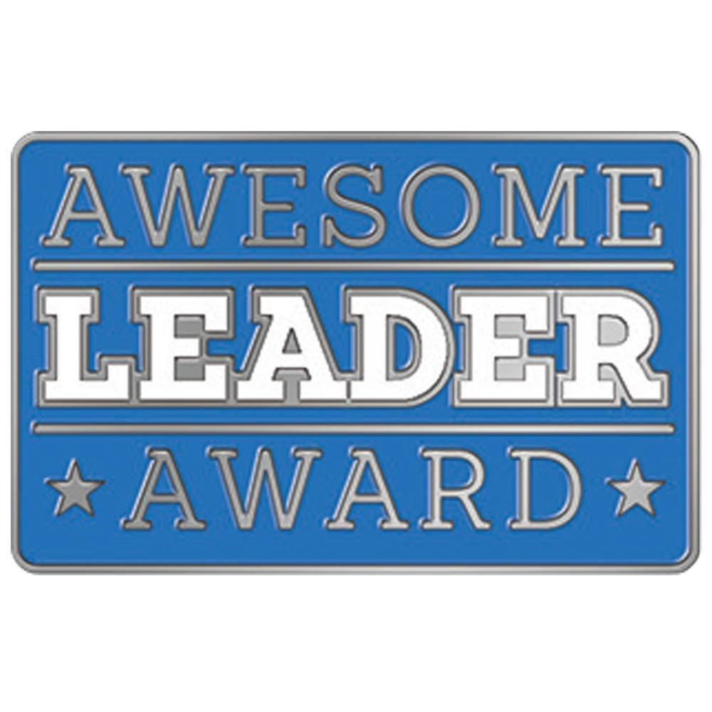 Awesome Leader Award Lapel Pin