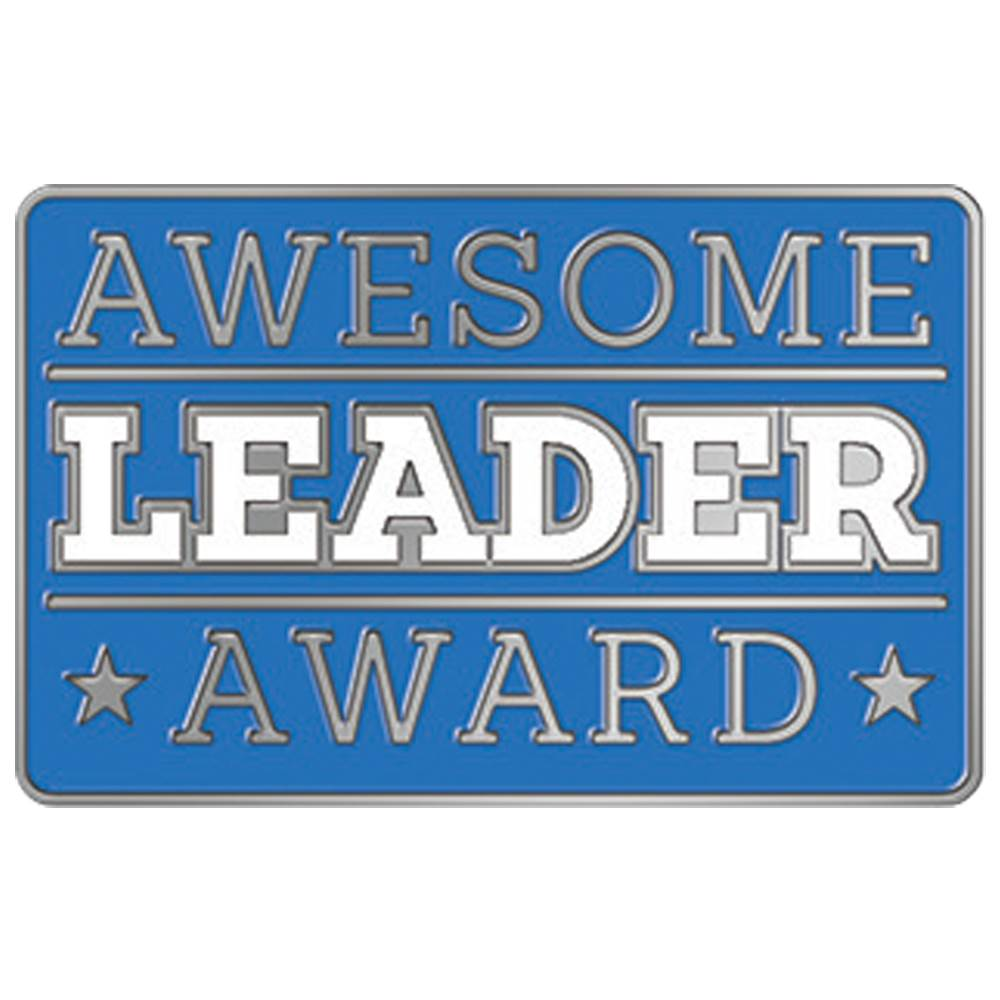 Awesome Leader Award Lapel Pin