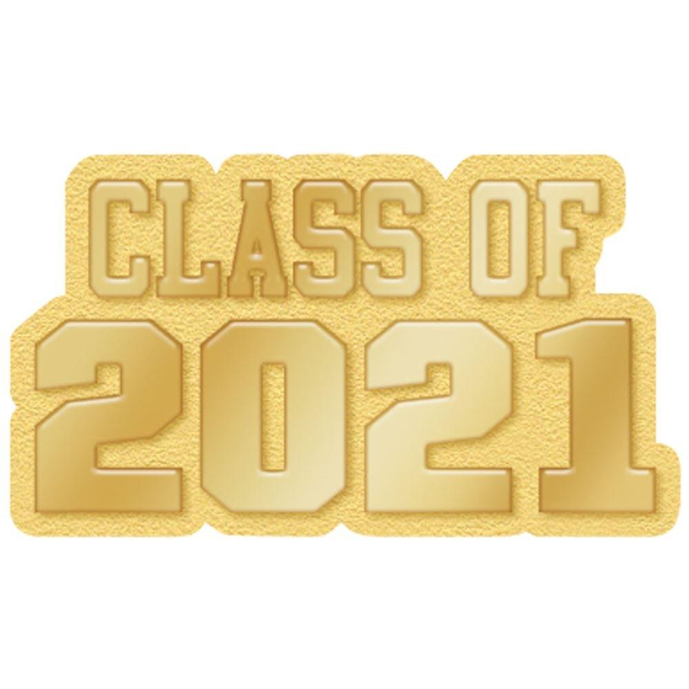 Class Of 2021 Lapel Pin