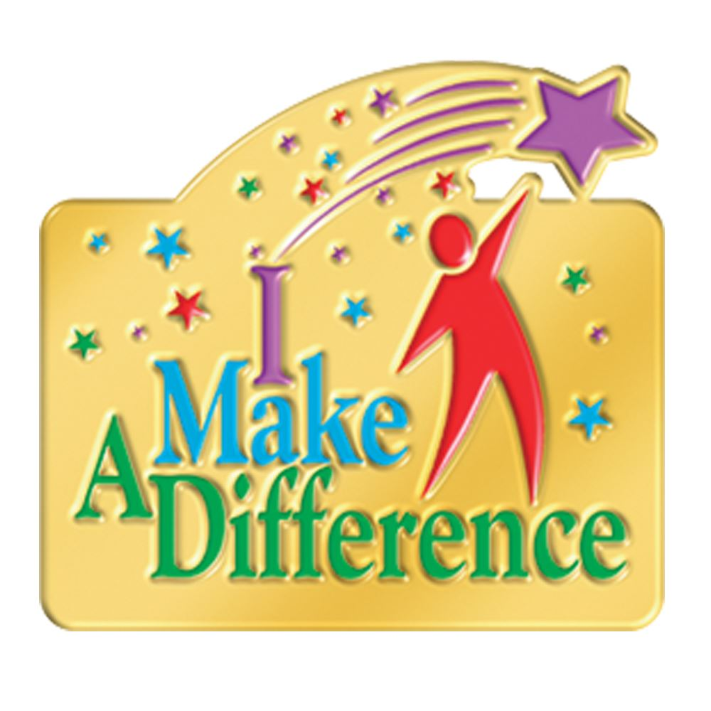 I Make A Difference Lapel Pin