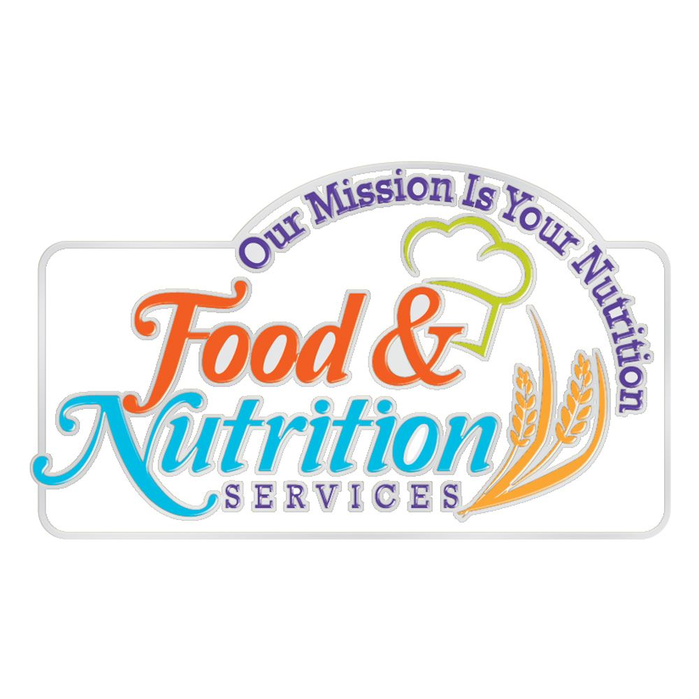 Food & Nutrition Services: Our Mission Is Your Nutrition Lapel Pin With Presentation Card