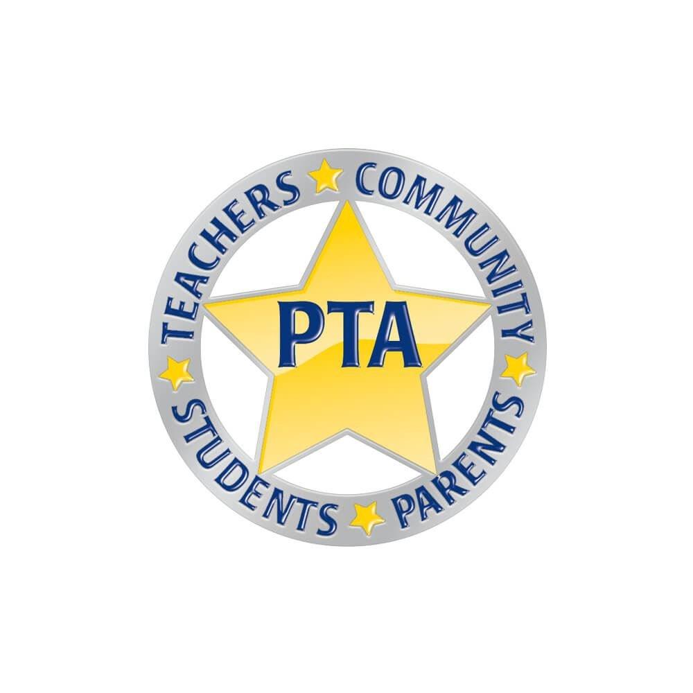 PTA Lapel Pin With Presentation Card